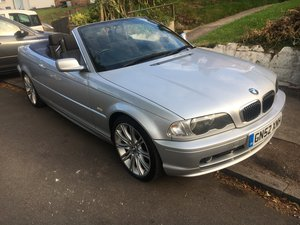 2002 Bmw 320 CI manual convertible model 2.2 petrol For Sale