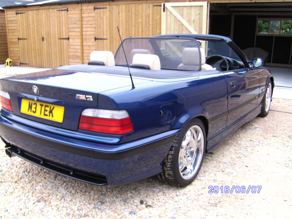 1995 BMW M3 Cabriolet classic For Sale (picture 1 of 6)
