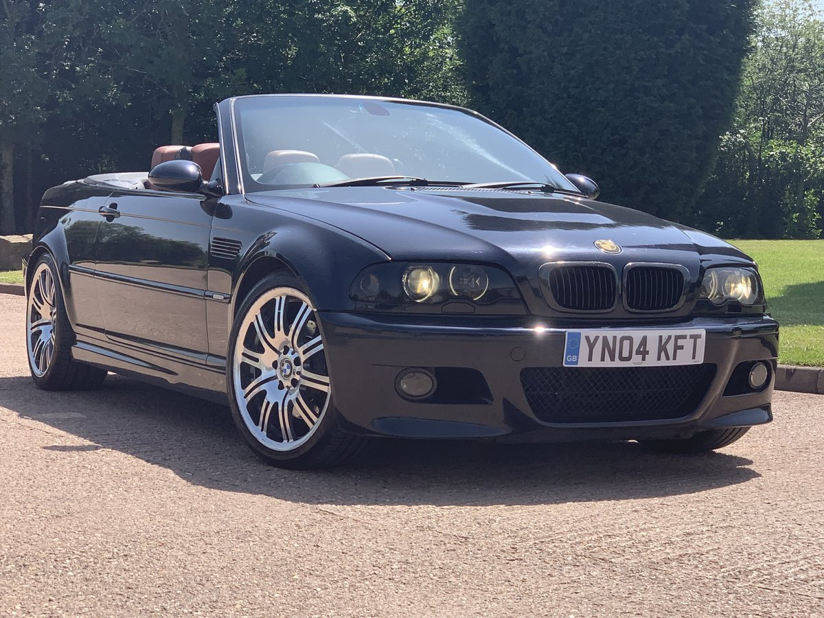 2004 Bmw m3 smg convertible. For Sale (picture 1 of 6)