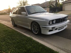 1988 BMW M3 E30 Coupe = Clean Ivory driver 190k mikles $36k For Sale