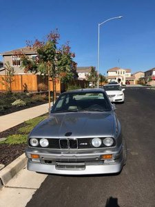 1988 BMW M3 E30 Coupe = Silver Project Needs Motor Work $35k