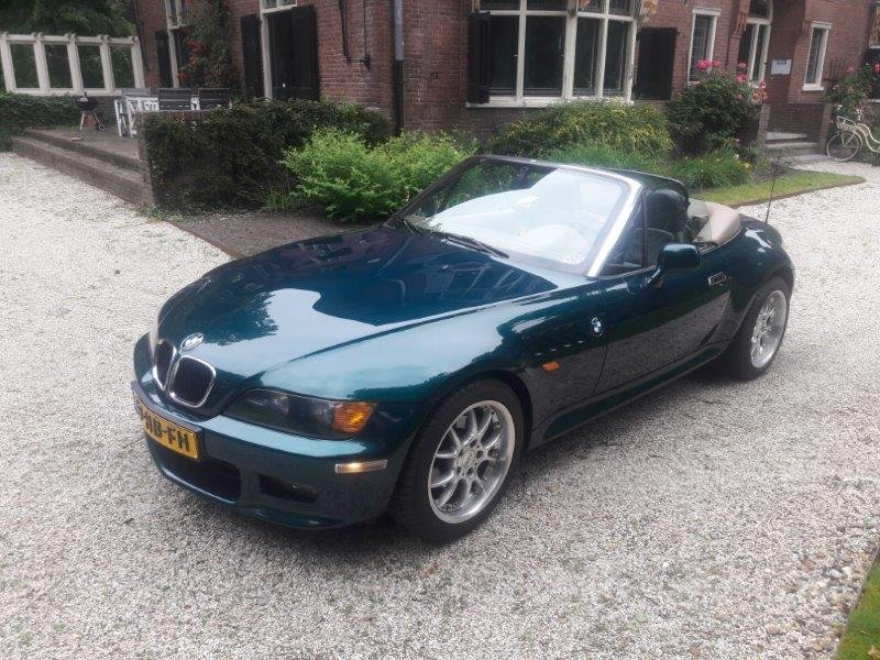 BMW Z3 BOSTONGRUN 2.8 L 1998 118000 KM 11950 euro SOLD (picture 1 of 6)