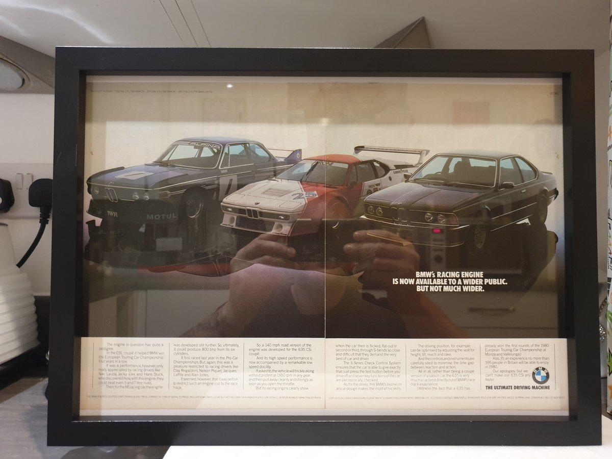Original 1980 BMW 635 CSi Advert For Sale (picture 2 of 3)