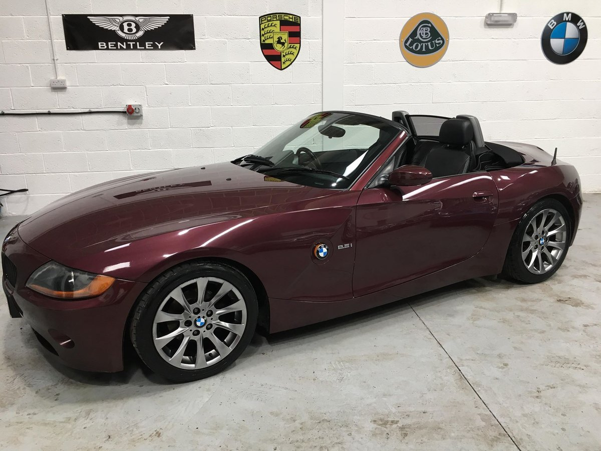 2003 BMW Z4 Roadster, 2.5 Manual stunning colour/wheels SOLD (picture 1 of 6)