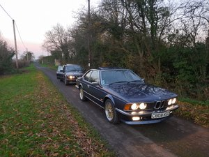 1986 Bmw 635 csi full mot history / no rust For Sale