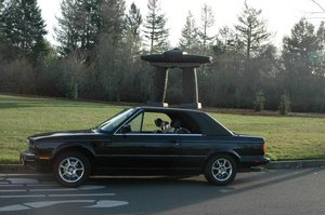 1991 BMW E30 5 SPD Rare HardTop Convertible Black Rebuilt $9.5k For Sale