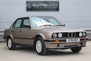1989 BMW 3 SERIES E30 316i 4d AUTO 57,735 miles Greg For Sale