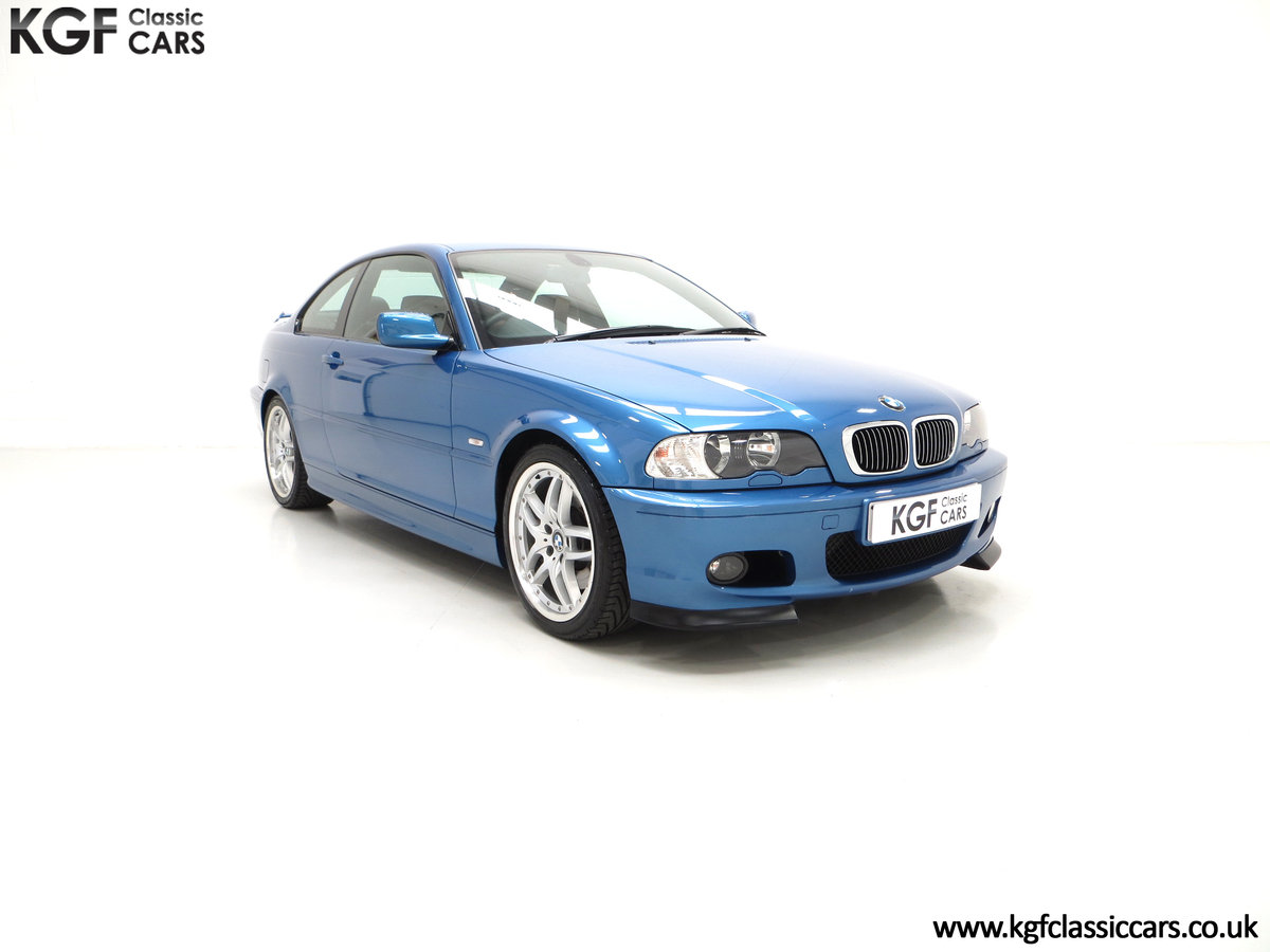 2002 A Rare E46 BMW 330Ci Clubsport Coupe with Just 17,118 Miles For Sale (picture 1 of 6)