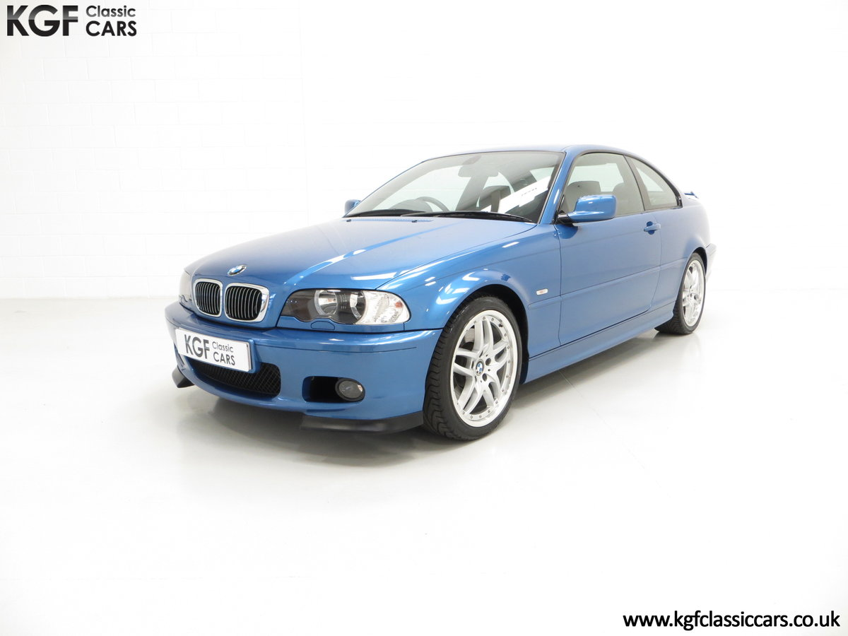 2002 A Rare E46 BMW 330Ci Clubsport Coupe with Just 17,118 Miles For Sale (picture 2 of 6)