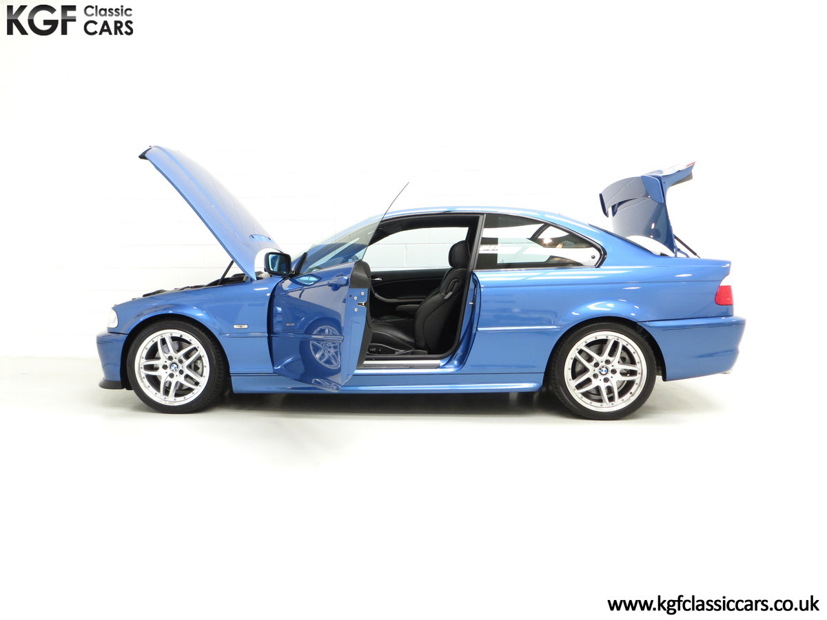 2002 A Rare E46 BMW 330Ci Clubsport Coupe with Just 17,118 Miles For Sale (picture 3 of 6)