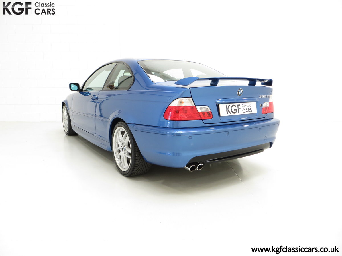 2002 A Rare E46 BMW 330Ci Clubsport Coupe with Just 17,118 Miles For Sale (picture 4 of 6)