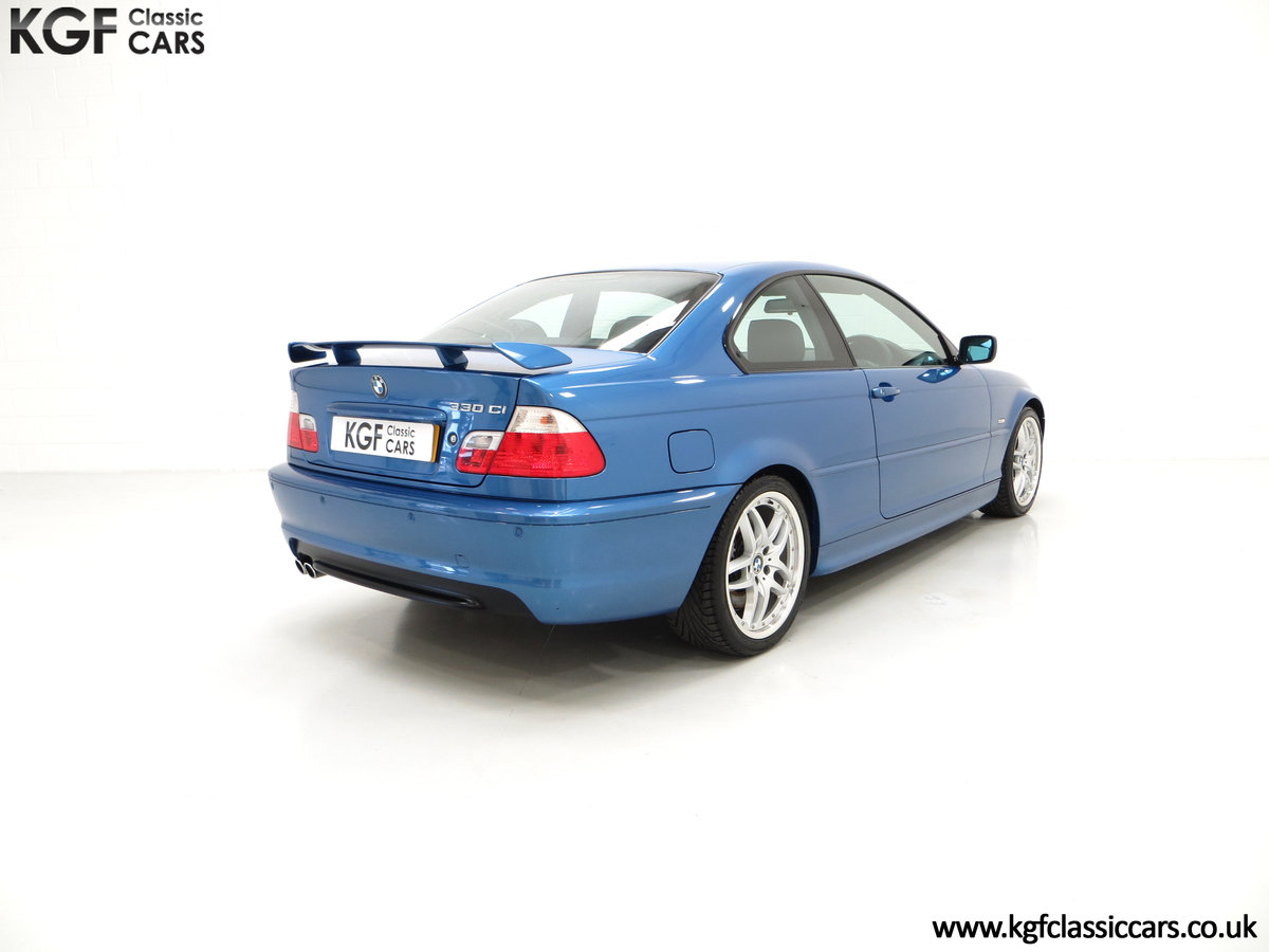 2002 A Rare E46 BMW 330Ci Clubsport Coupe with Just 17,118 Miles For Sale (picture 5 of 6)