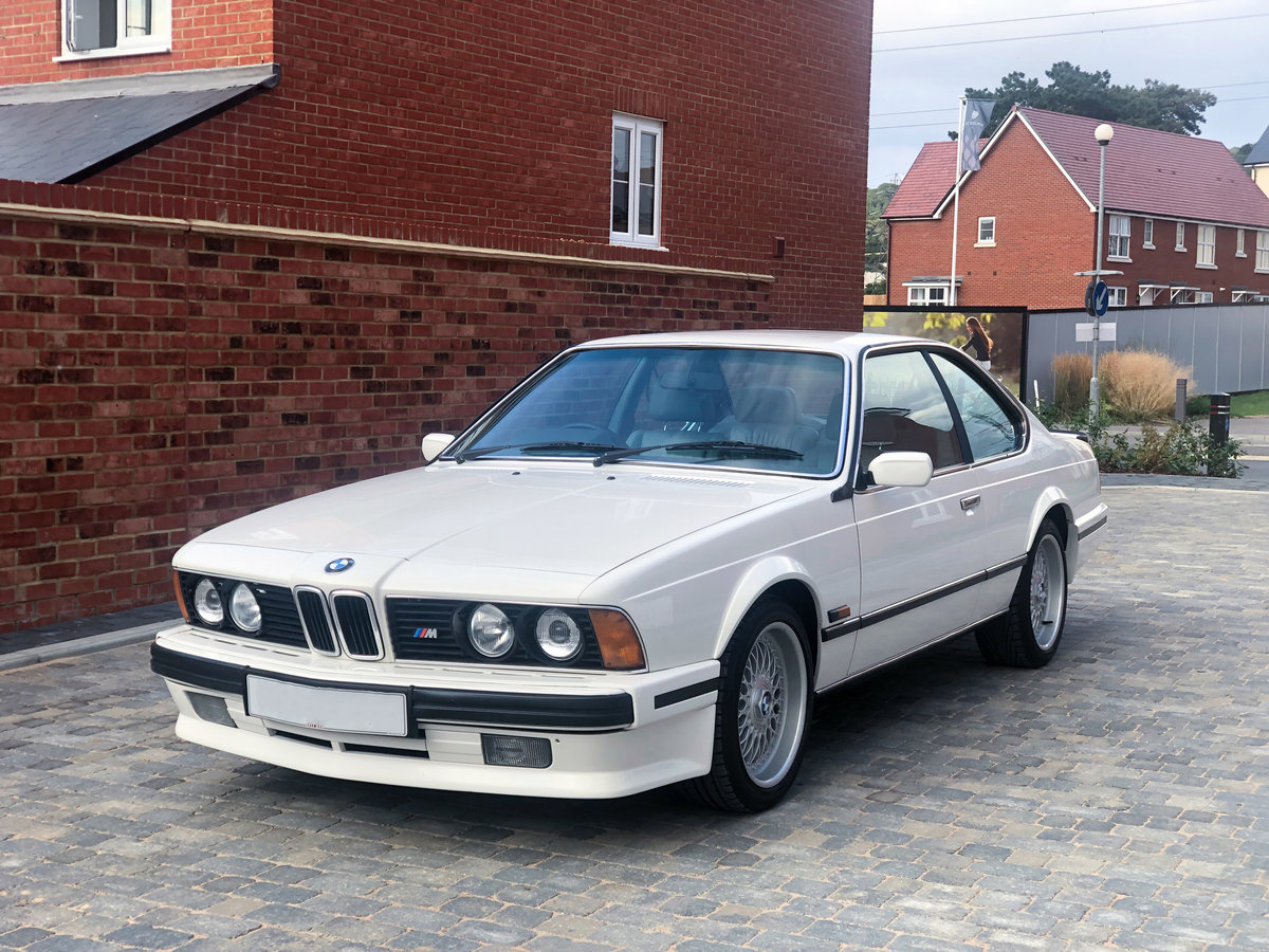 1988 BMW e24 m635 csi highline fully restored For Sale (picture 1 of 6)