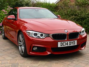 2014 BMW 420d M Sport Coupe - High Spec For Sale