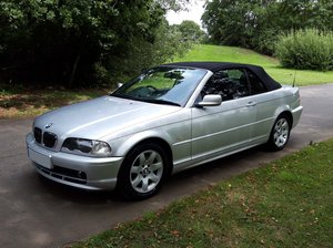 2001 BMW 3 SERIES 2.2 320 CI CONVERTIBLE ( PX Clearance ) For Sale