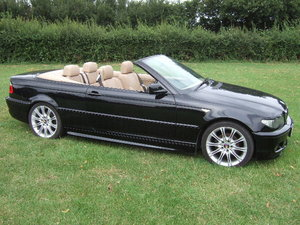 2005 BMW E46 318Ci 2.0 M Sport Convertible only 30500 miles