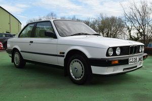1989 BMW E30 3 Door, 1 owner from new, Low Miles, FSH For Sale