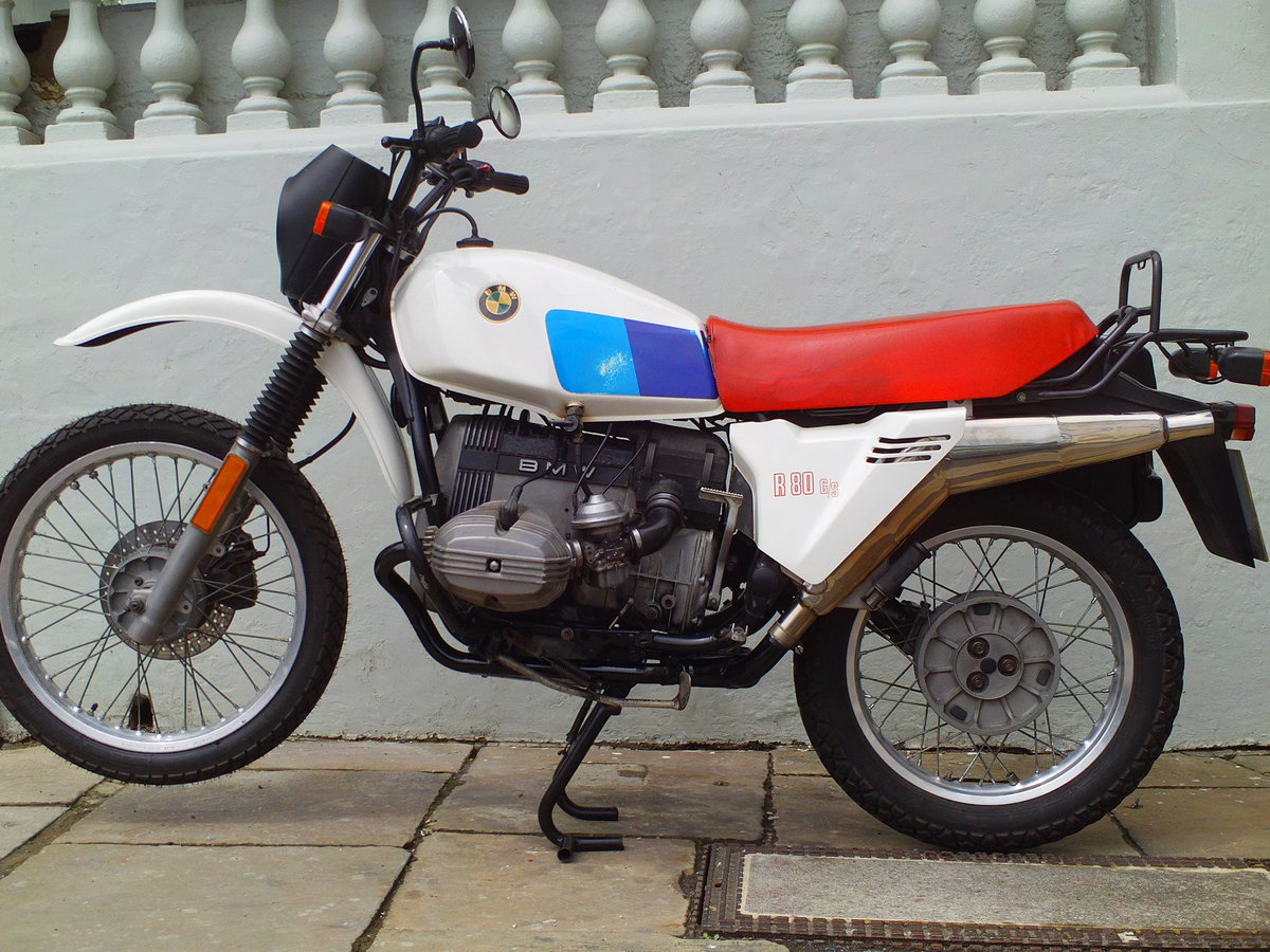 1981 BMW R80/GS SOLD (picture 1 of 6)