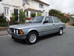 1981 BMW E21 323I COUPE AUTO