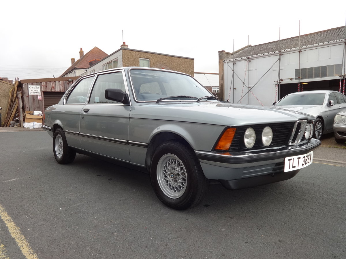 1980 1981 BMW E21 323I COUPE AUTO For Sale (picture 4 of 6)