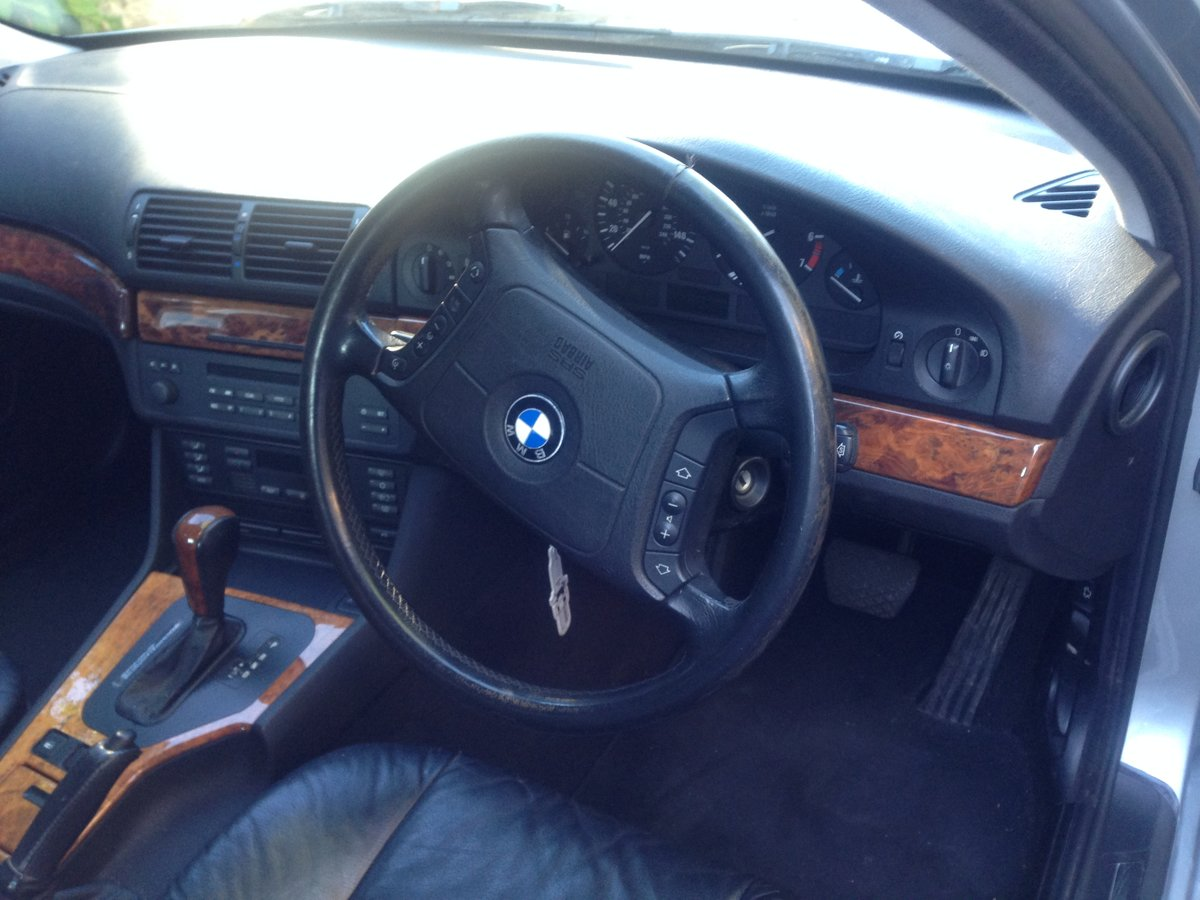 1998 BMW 528i SE Auto Silver For Sale (picture 5 of 6)