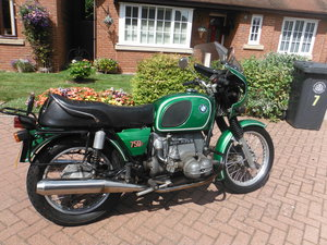 1974 BMW R75/6,  For Sale
