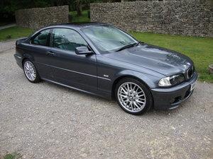 2002 BMW E46 325 CI M-Sport Coupe. For Sale