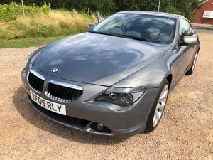 2005 05 BMW 630i SPORTS COUPE IMMACULATE 2 OWNERS FULL SPEC VGC For Sale