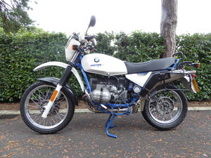 1996 BMW R80GS Basic - Excellent Condition For Sale