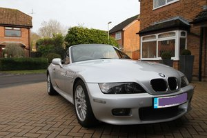 2002 Silver BMW Z3 2.2 - great condition