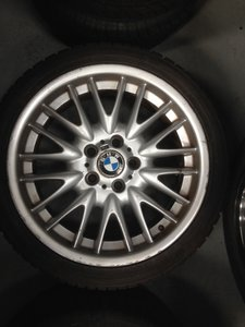 2014 BMW MV1 18 INCH STAGGERED ALLOYS WITH FREE TYRES For Sale