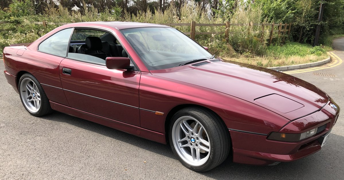 1991 RERE BMW 850i V12 AUTO For Sale | Car And Classic