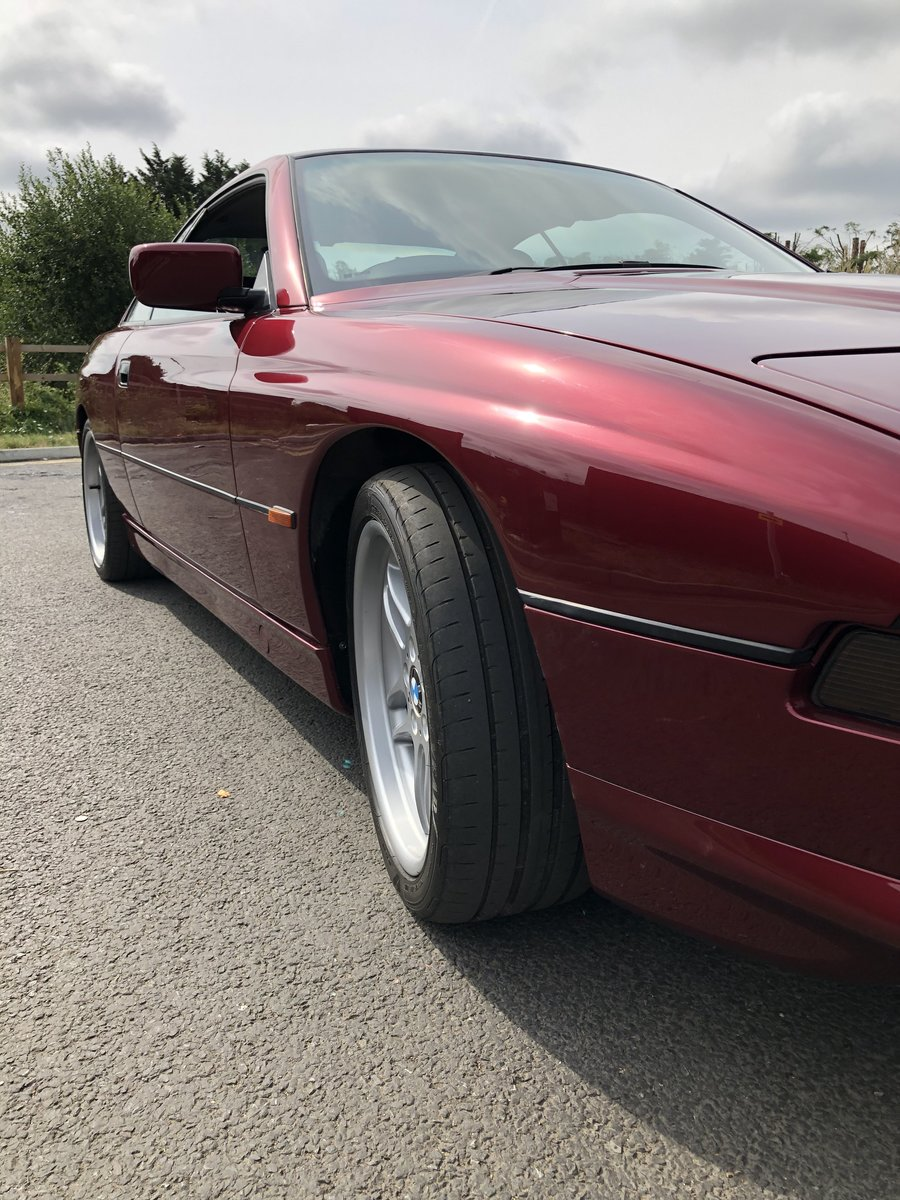 1991 RERE BMW 850i V12 AUTO For Sale (picture 4 of 6)
