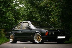 1986 BMW 635 Csi Manual Black For Sale