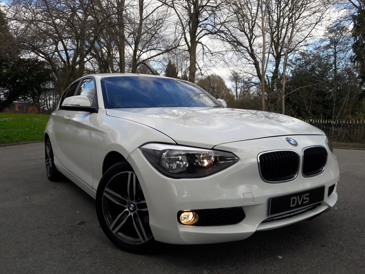 2014 BMW 114i Sport 47k miles in White 5 Door SOLD (picture 1 of 6)
