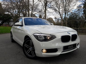 2014 BMW 114i Sport 47k miles in White 5 Door SOLD