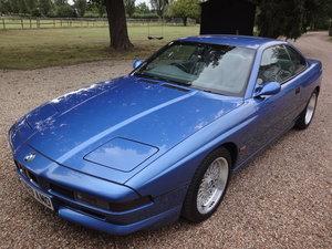 1999 Stunning BMW 840ci Individual Sport in Estoril Blue SOLD