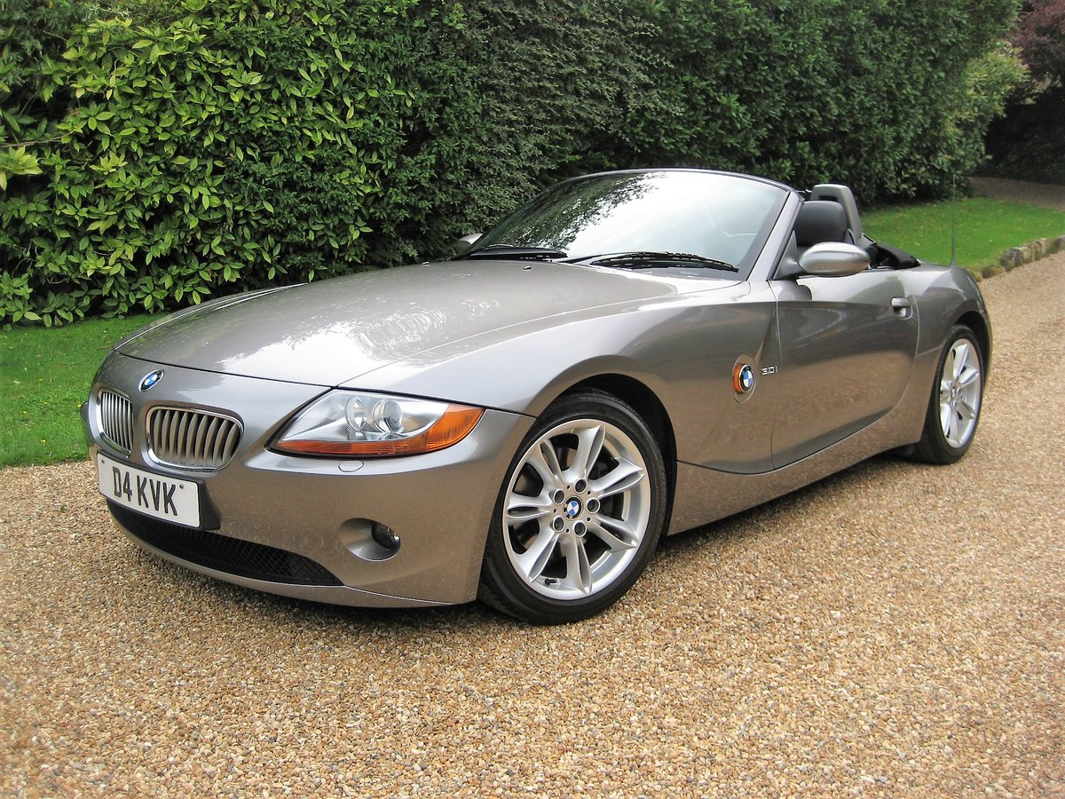 2003 BMW Z4 3.0i Auto 1 Owner From New With Just 22,000 Miles For Sale (picture 1 of 6)