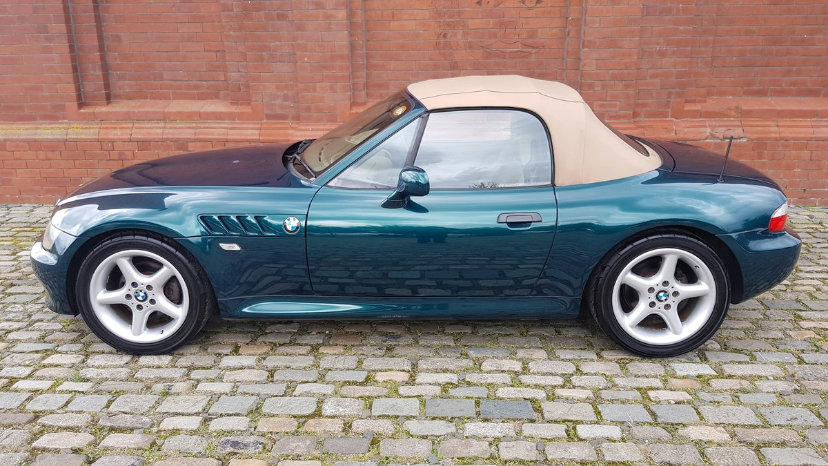 1998 BMW Z3 IMPORTED ROADSTER CONVERTIBLE 1.9 AUTOMATIC * For Sale (picture 1 of 6)