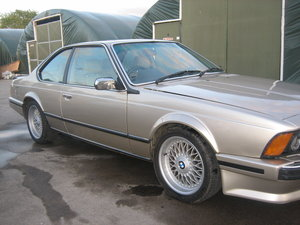 1989 BMW 635 highline For Sale
