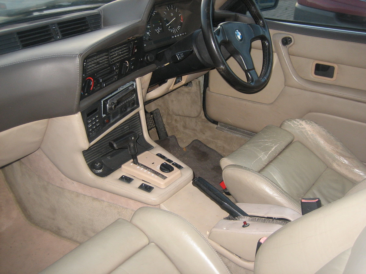 1989 BMW 635 highline For Sale (picture 4 of 5)