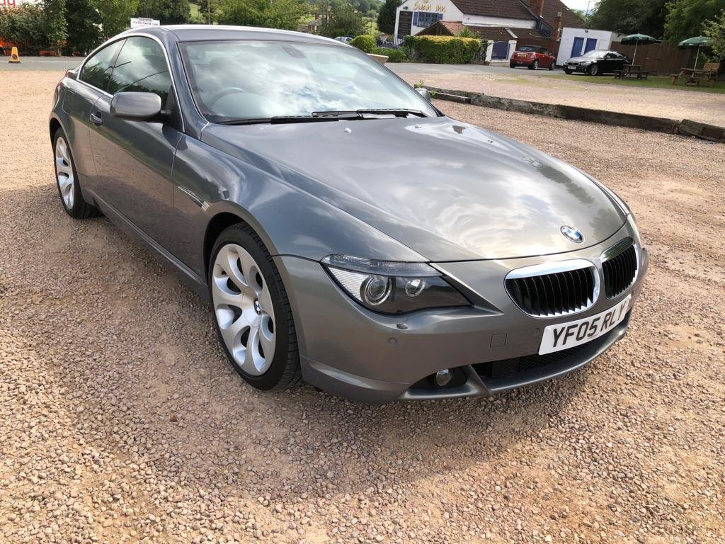 2005 BMW 630I FULL BMW HISTORY 2 OWNERS SUPERB CAR AND CONDI For Sale (picture 1 of 6)