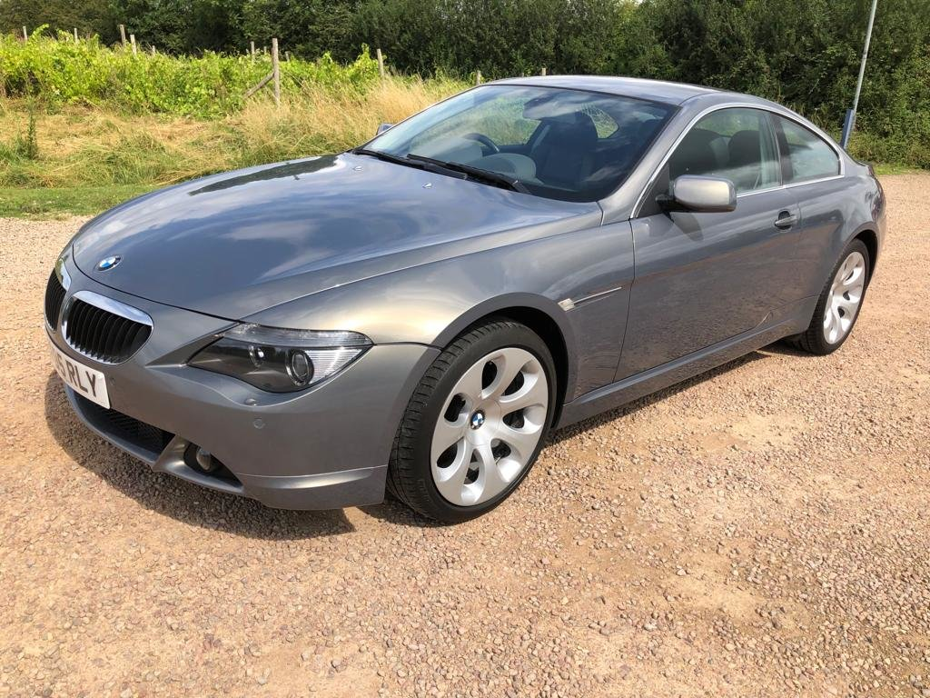 2005 BMW 630I FULL BMW HISTORY 2 OWNERS SUPERB CAR AND CONDI For Sale (picture 2 of 6)