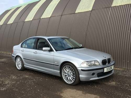 2000 BMW 330i SE at Morris Leslie Auction 17th August SOLD by Auction (picture 1 of 5)