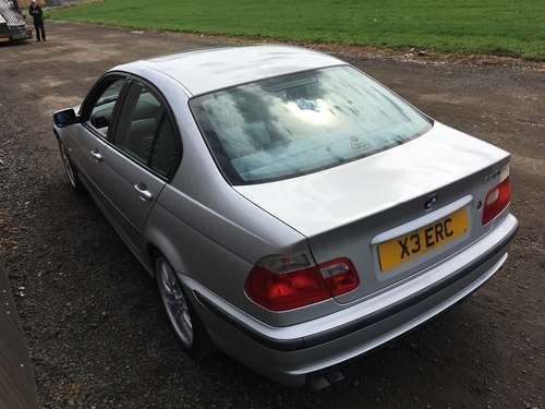 2000 BMW 330i SE at Morris Leslie Auction 17th August SOLD by Auction (picture 3 of 5)