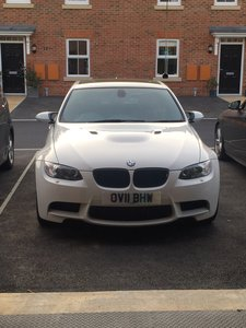 2011 M3 saloon e90 lci white/red 1 years bmw warranty