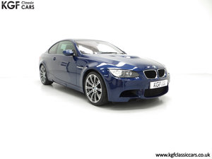 2007 An Awesome E92 BMW M3 Coupe with High Specification SOLD