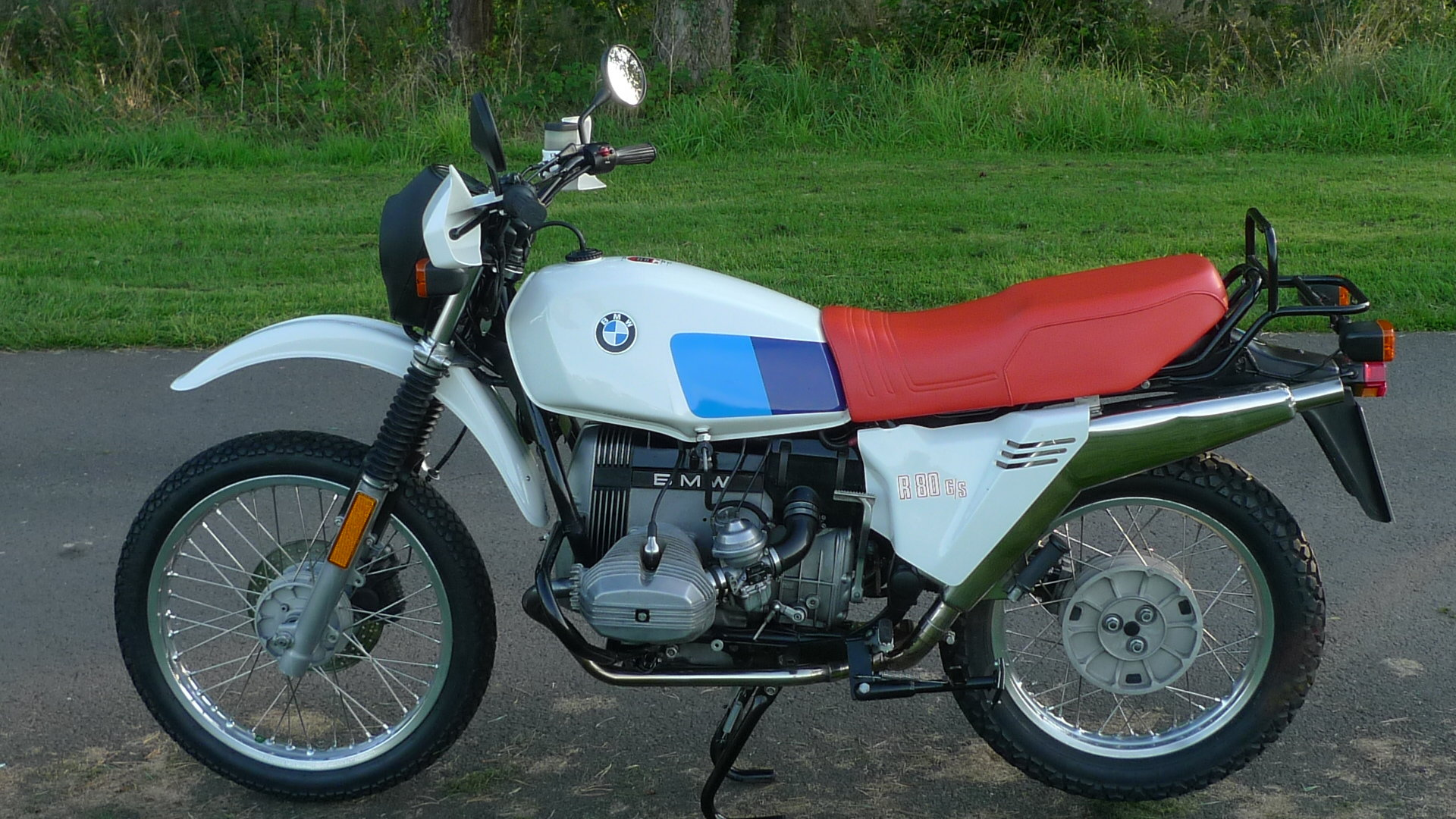 BMW R80 G/S 1981 UK Bike For Sale (picture 1 of 6)