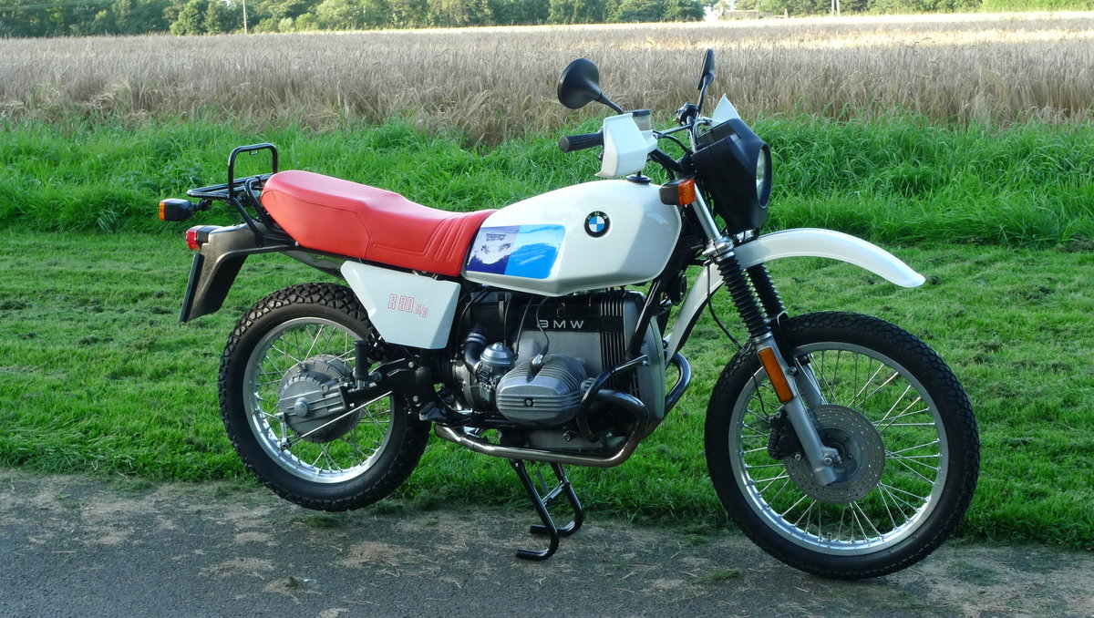 BMW R80 G/S 1981 UK Bike For Sale (picture 2 of 6)