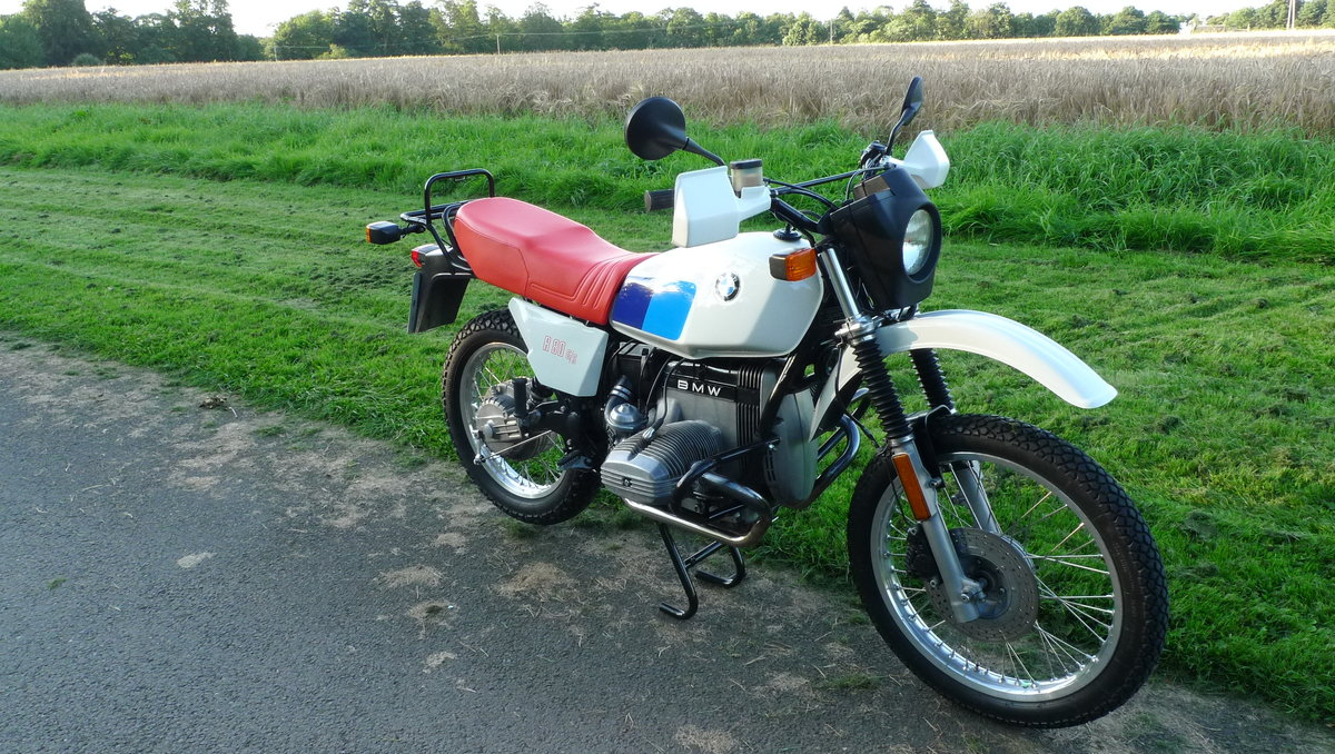 BMW R80 G/S 1981 UK Bike For Sale (picture 6 of 6)
